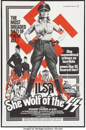 Ilsa, az SS farkasszukája poszter