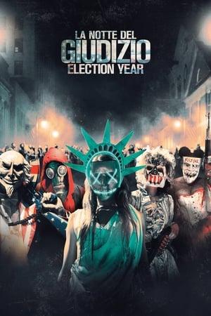 A megtisztulás éjszakája: Választási év poszter