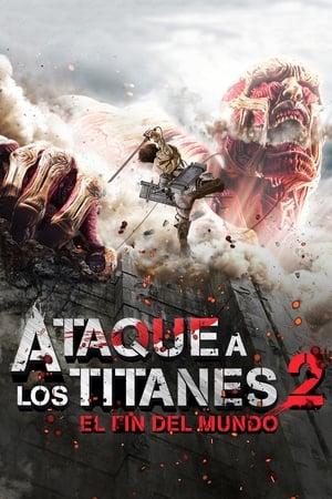 進撃の巨人 ATTACK ON TITAN エンド オブ ザ ワールド poszter
