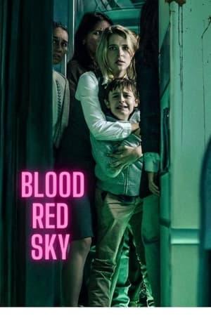 Vérvörös égbolt poszter