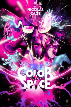 Szín az űrből poszter